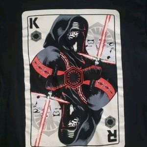 Star Wars King Darth Vader  Deck Card tshirt (M)